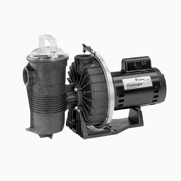 Pentair Challenger  Pump 2 HP 230V EE Energy Efficient 345208