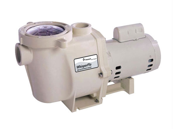 Pentair Whisperflo Pump 1 HP Two Speed 115V 012485